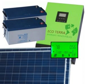 Kit Solar evite cortes de luz